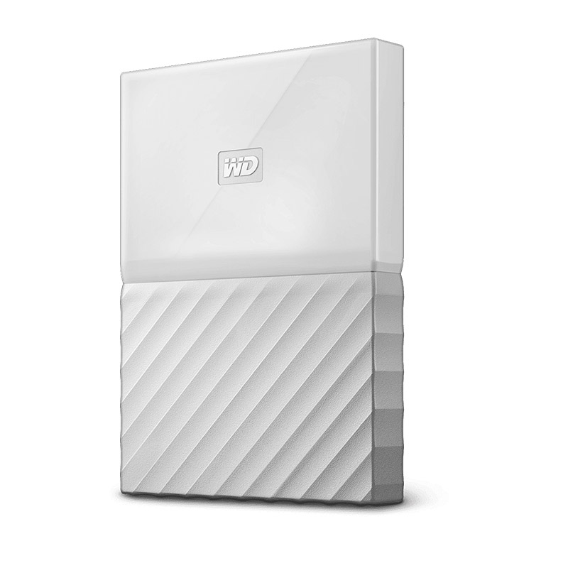 Western Digital 4TB My Passport USB3.0 External Hard Drive White