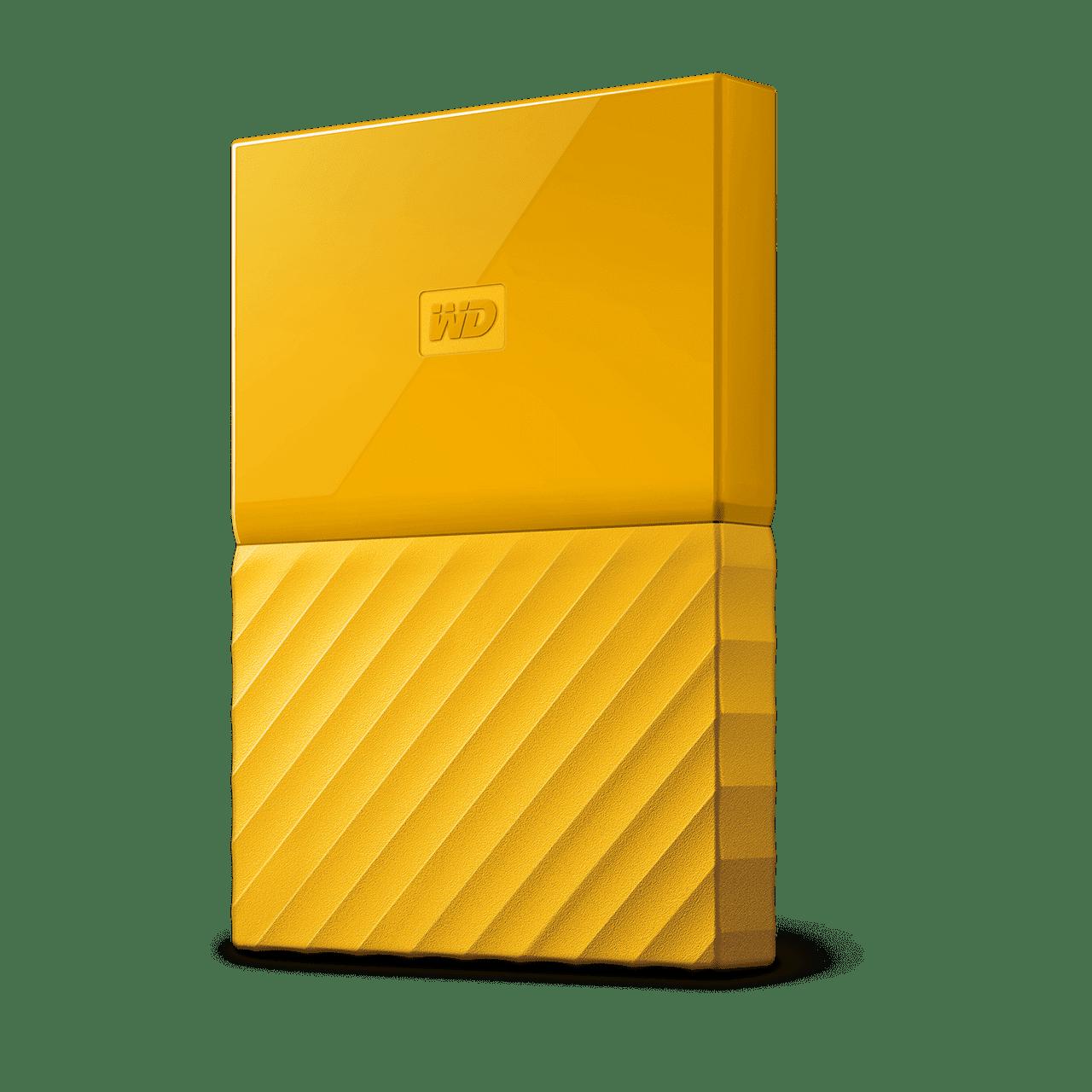 Western Digital 4TB My Passport USB3.0 External Hard Drive Yellow