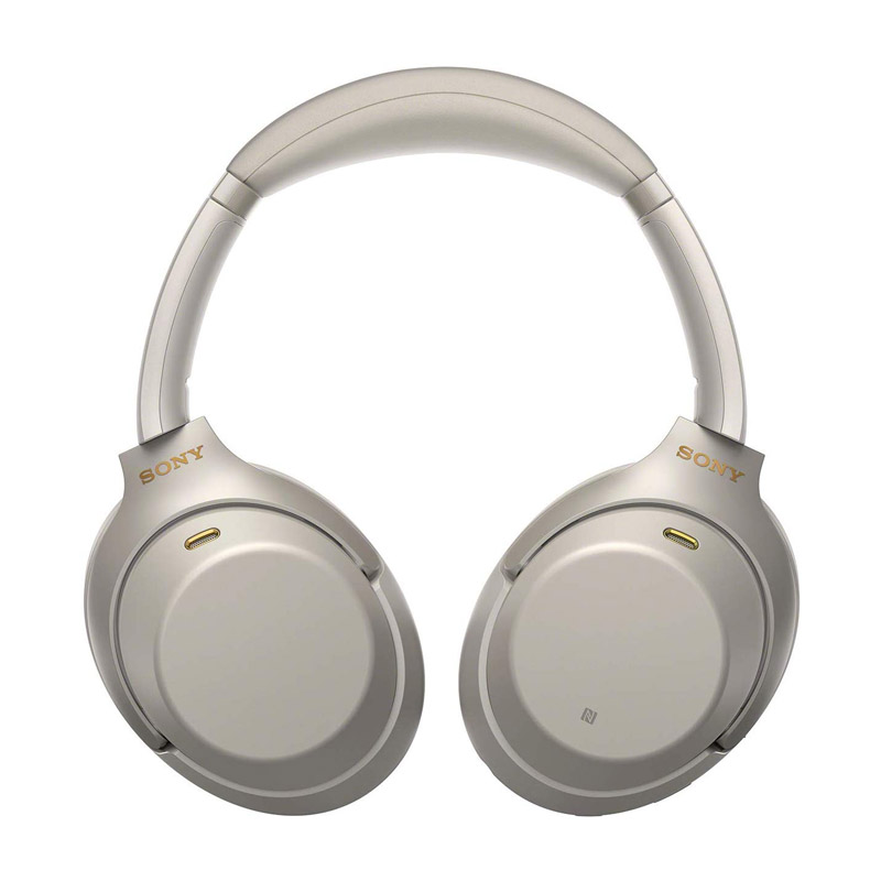 Sony WH-1000XM3 Noise Canceling OverEar Bluetooth Headphones Silver