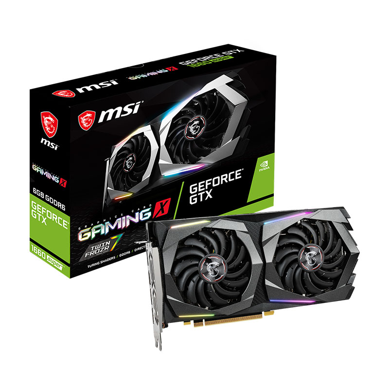 MSI GeForce GTX 1660 Super Gaming X 6G Graphics Card