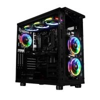 Thermaltake 120mm RGB Riing Plus 3 Pack and 3 Lumi Plus RGB Strips Combo Kit