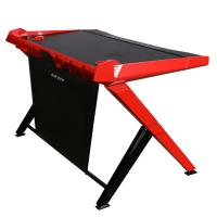 DXRacer 1000 Series Gaming Desk Black - Red