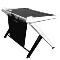 DXRacer 1000 Series Gaming Desk Black - White