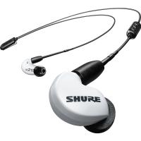 Shure SE215 Wireless Earphones - White (BT2 Cable)