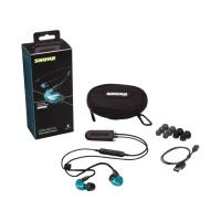 Shure SE215 Wireless Earphones - Blue (BT2 Cable)