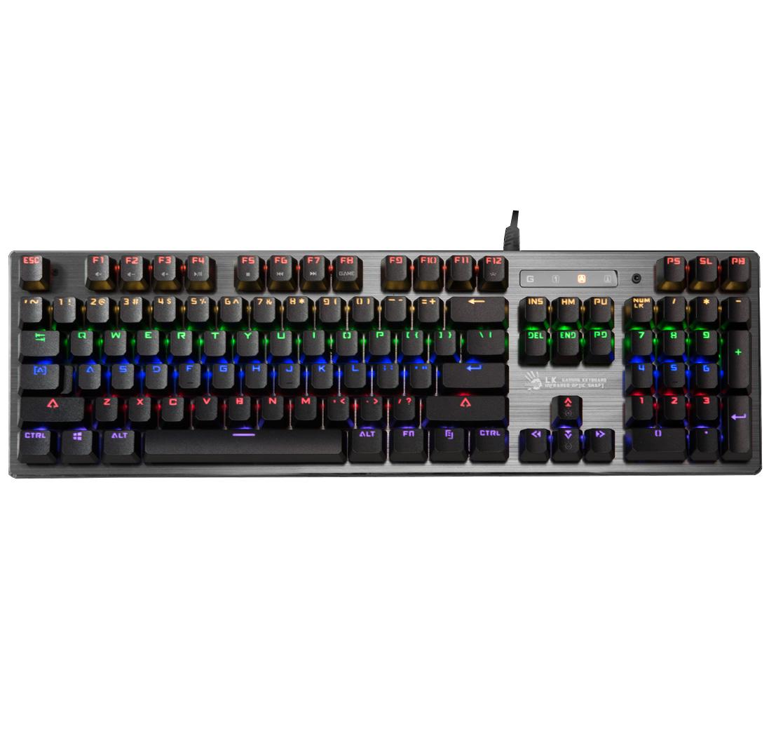 Bloody B760 RGB Backlit Mechanical Gaming Keyboard - Black Switch