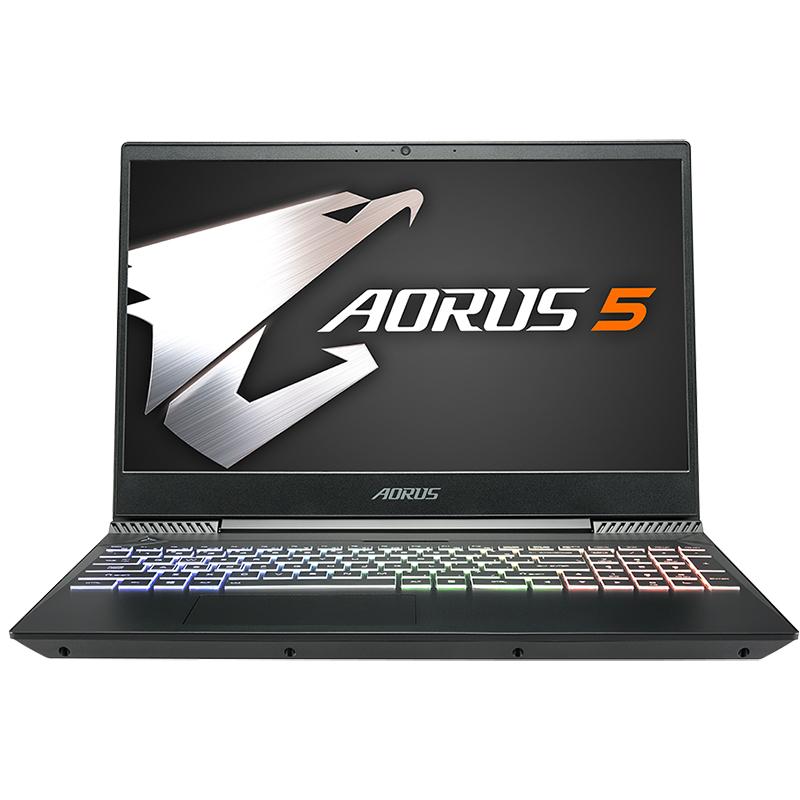 Gigabyte Aorus 5 15.6in FHD IPS 144Hz i7 9750H GTX 1650 512GB SSD + 1TB HDD 16GB RAM W10H Gaming Laptop (AORUS5-NA-7AU13