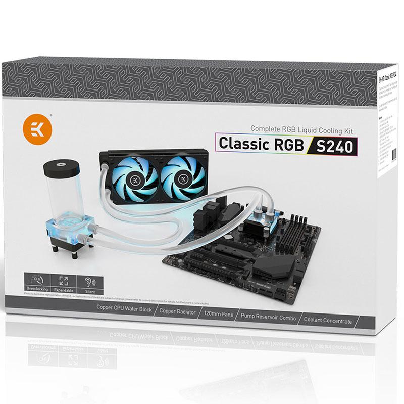 EK KIT Classic RGB S240 Water Cooling Kit