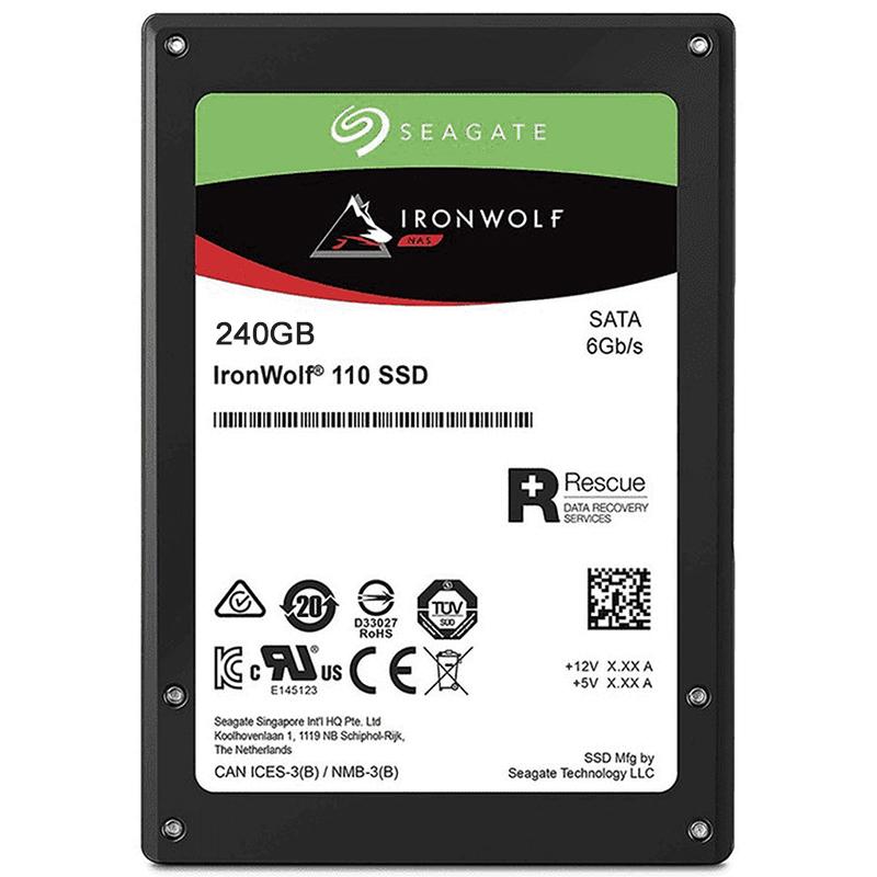 Seagate IronWolf 110 SSD 240GB SATA 2.5S Encryption 5yr warranty