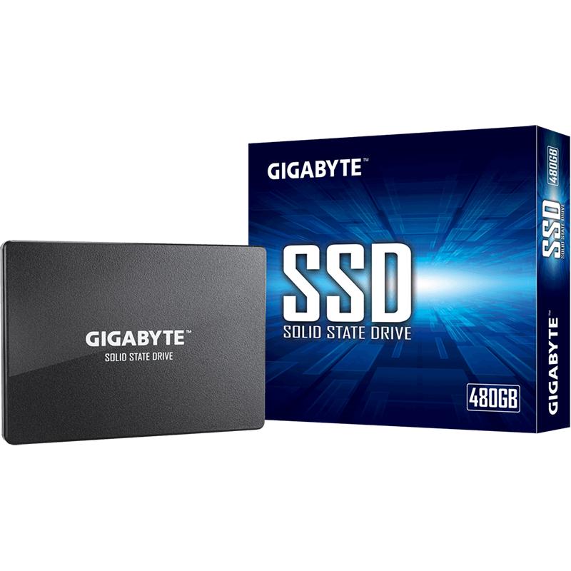 Gigabyte 480GB 2.5in SATA 3 SSD (GP-GSTFS31480GNTD)