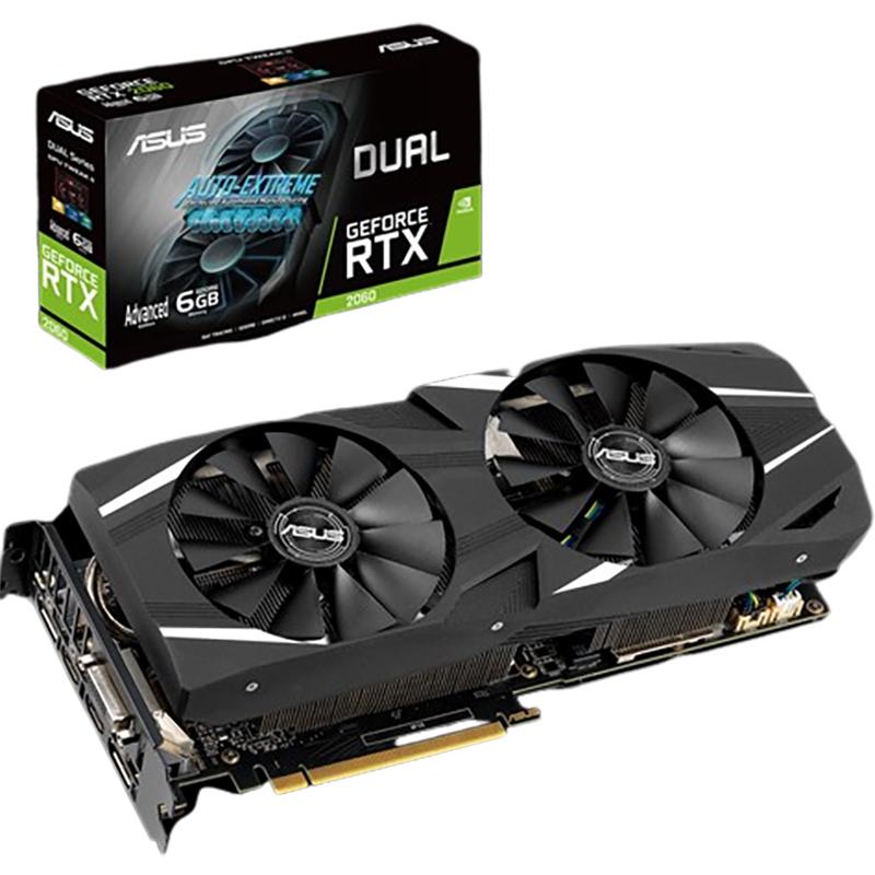 Asus GeForce RTX 2060 Dual 6G Advanced Ed Graphics Card