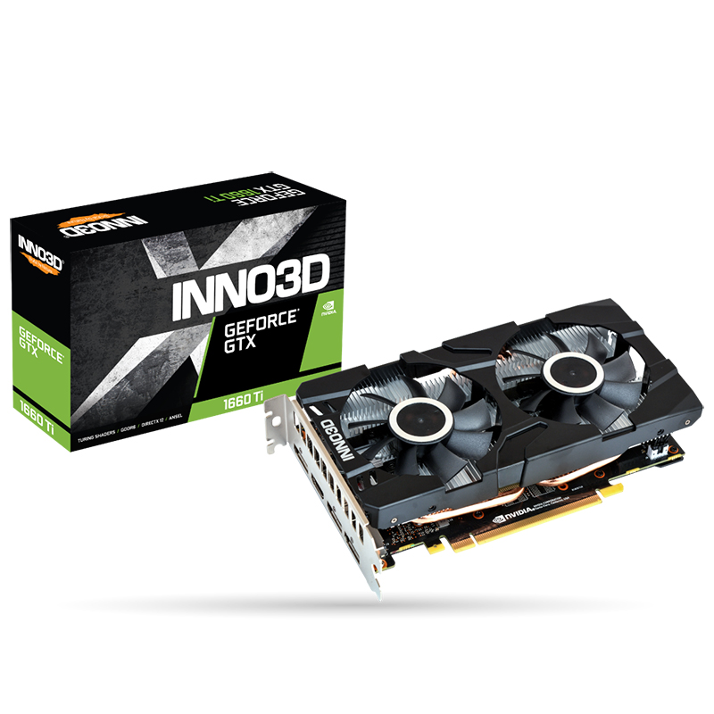 Inno3d Geforce GTX 1660 Super Twin X2 6G Graphics Card