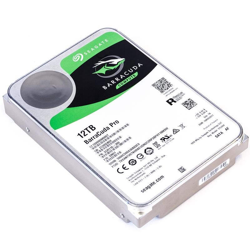 "Seagate BarraCuda Pro 12TB HDD 3.5"" SATA 7200RPM"
