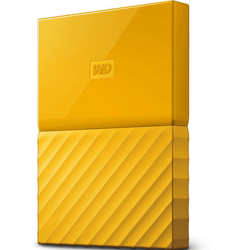 Western Digital My Passport 2TB Thin Yellow 2.5In USB 3.0