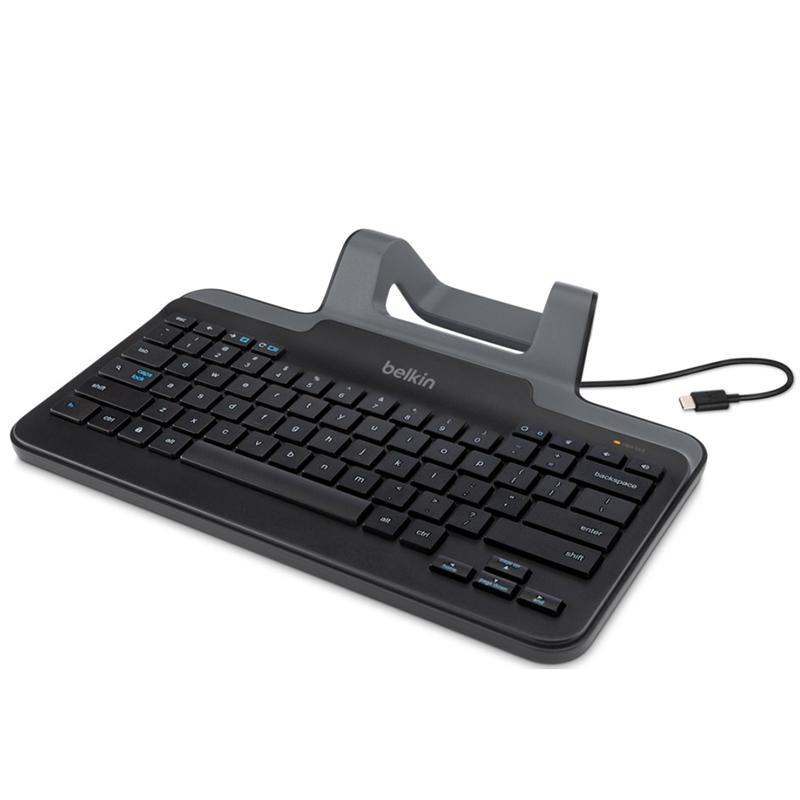 Belkin Wired Keyboard w Stand for USB-C Connection