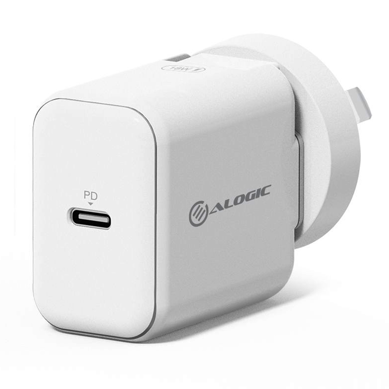 Alogic 18W USB C Fast Charge Wall Charger
