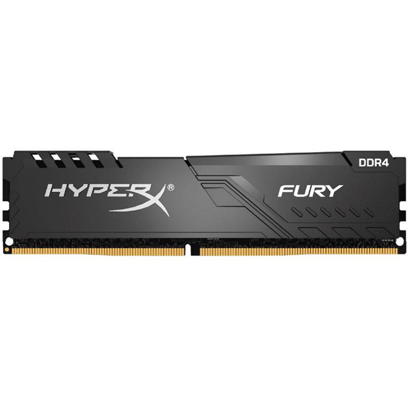 Kingston HyperX 16GB (1x16GB) HX426C16FB3/16 Fury 2666MHz DDR4 RAM - Black