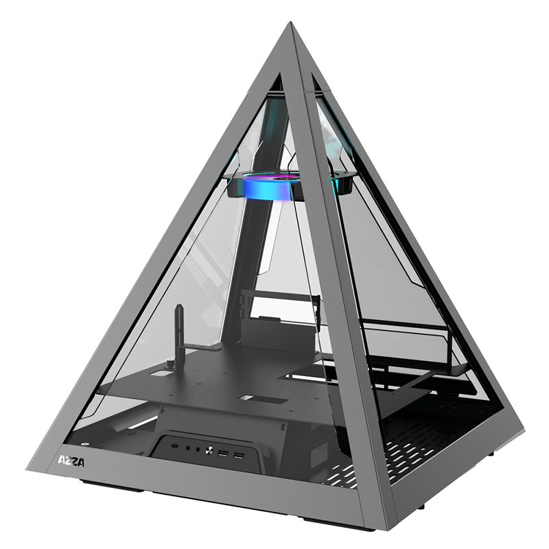 AZZA Pyramid 804 ARGB Tempered Glass ATX Case