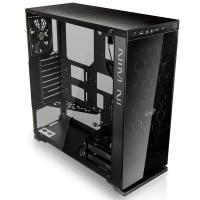 Inwin 805 BLACK MID TOWER CHASSIS Type-C Version ALUMINUM AND 3mm TEMPERED GLASS STRUCTURE, 1xUSB