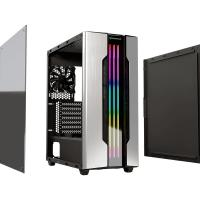 Cougar Gemini-M Tempered Glass RGB Mini Tower mATX Case - Silver