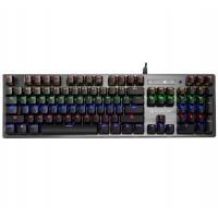 Bloody B760 RGB Backlit Mechanical Gaming Keyboard - Orange Switch