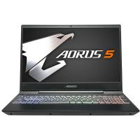 Gigabyte Aorus 5 15.6in FHD IPS 144Hz i7 9750H GTX 1650 512GB SSD + 1TB HDD Gaming Laptop (AORUS5-NA-7AU1331SH)