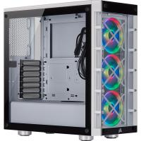 Corsair iCUE 465X RGB White (LL120 RGB Fan) Mid-Tower ATX Case