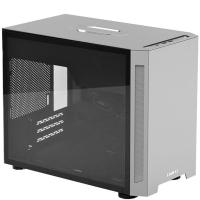Lian Li PC-TU150 Portable Tempered Glass ITX Case - Silver