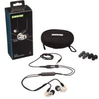 Shure SE215 Wired Earphones - Clear (UNI Cable)