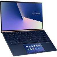 Asus Zenbook i7-8565U 14in FHD Touch 16GB 1TB SSD MX250-2GB Royal Blue 16GB RAM W10Pro Laptop (UX434FL-AI034R)