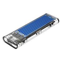 Orico TCM2-C3-BL USB 3.1 Type C Gen 2 M.2 Enclosure Transparent Blue