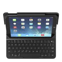 Belkin QODE Slim Style Keyboard D Case for Ipad 2018/2017/Air/Air 2 Black