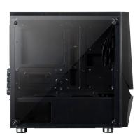 AZZA Luminous 110 Tempered Glass mATX Case (No Fan)