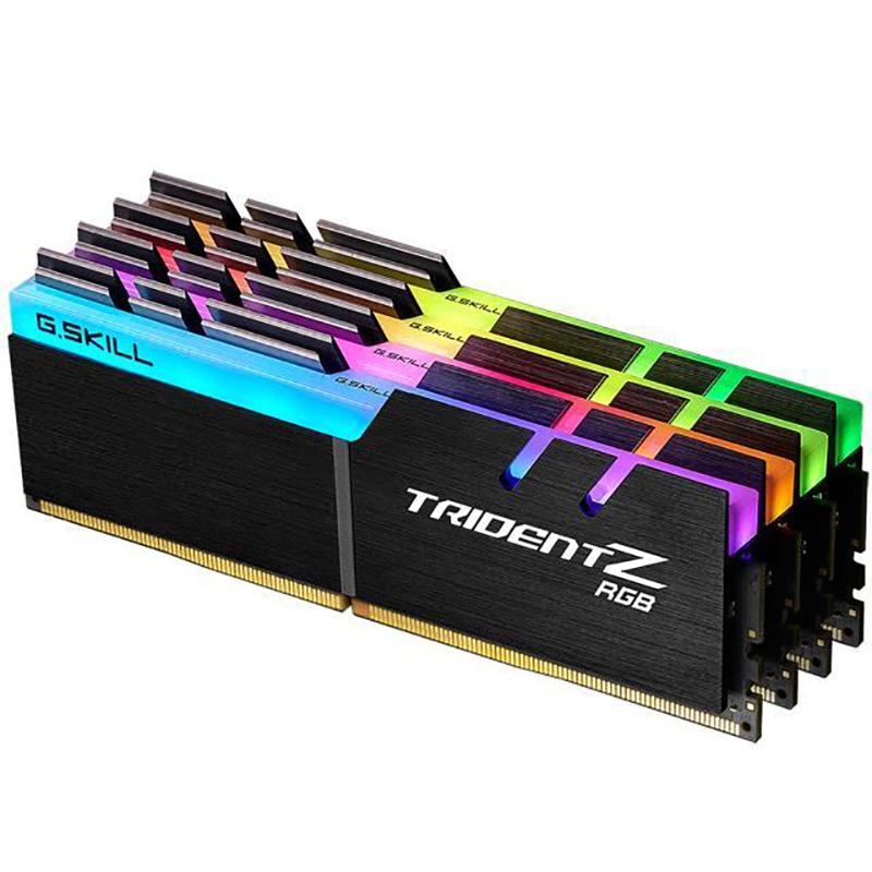 G.Skill 32G(4x8G)F4-2400C15Q-32GTZRX PC4-19200 DDR4 2400MHZ 15-15-15-35 1.2V DIMM FOR AMD