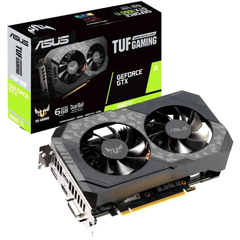 Asus TUF GeForce GTX 1660 Ti 6G OC Graphics Card