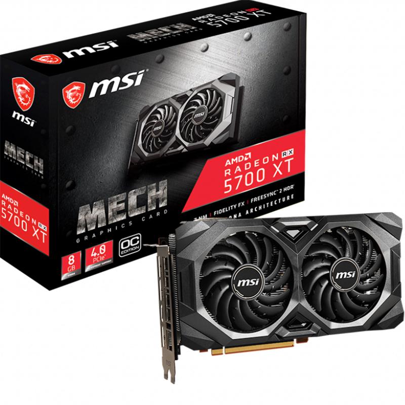 MSI Radeon RX 5700 XT MECH 8G OC Graphics Card
