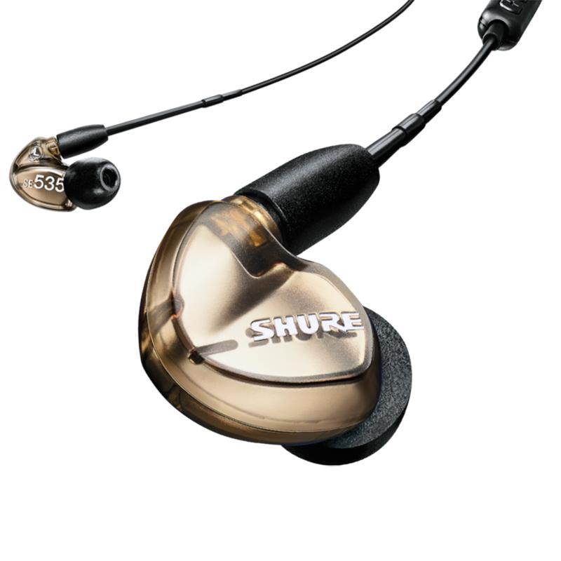 Shure SE535 Wired Earphones - Bronze (UNI Cable)