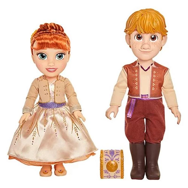 Frozen 2 Anna/Kristoff Dolls 2Pk