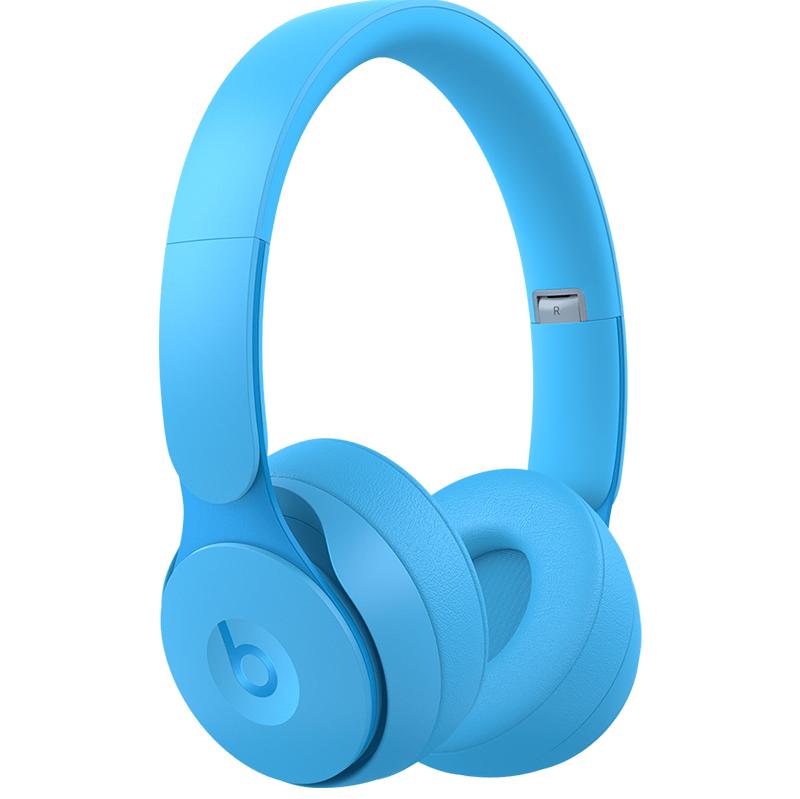 Beats Solo Pro Wireless Noise Cancelling Headphones - Matte Light Blue