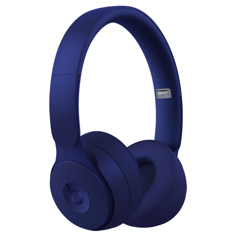 Beats Solo Pro Wireless Noise Cancelling Headphones - Matte Dark Blue