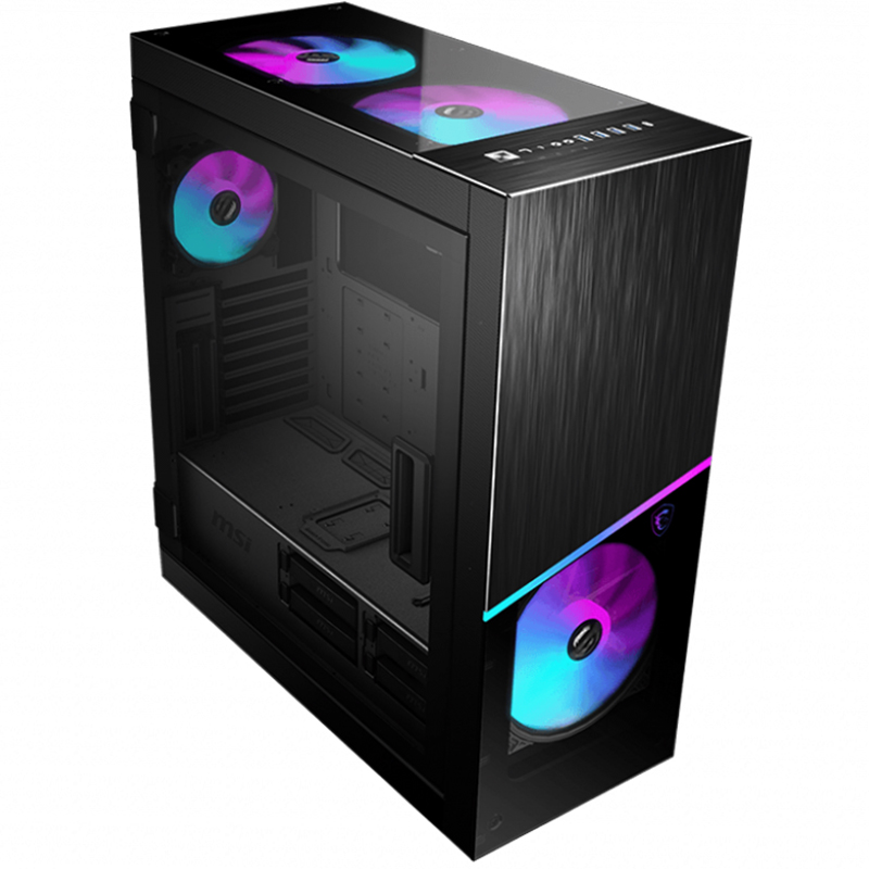 MSI MPG Sekira 500X Tempered Glass Mid Tower E-ATX Case