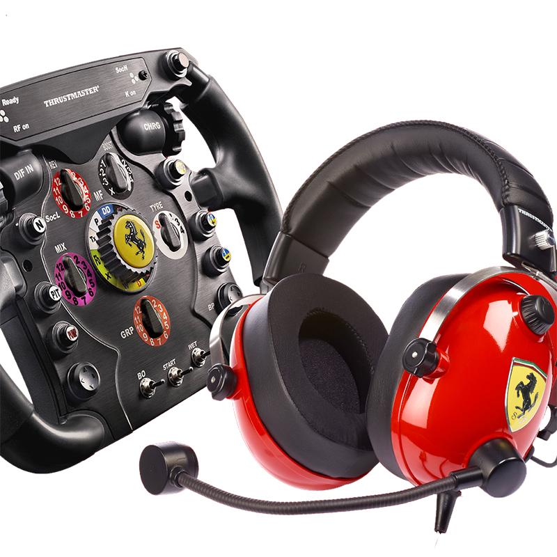 Thrustmaster Scuderia Ferrari F1 Race Wheel and Headset Kit