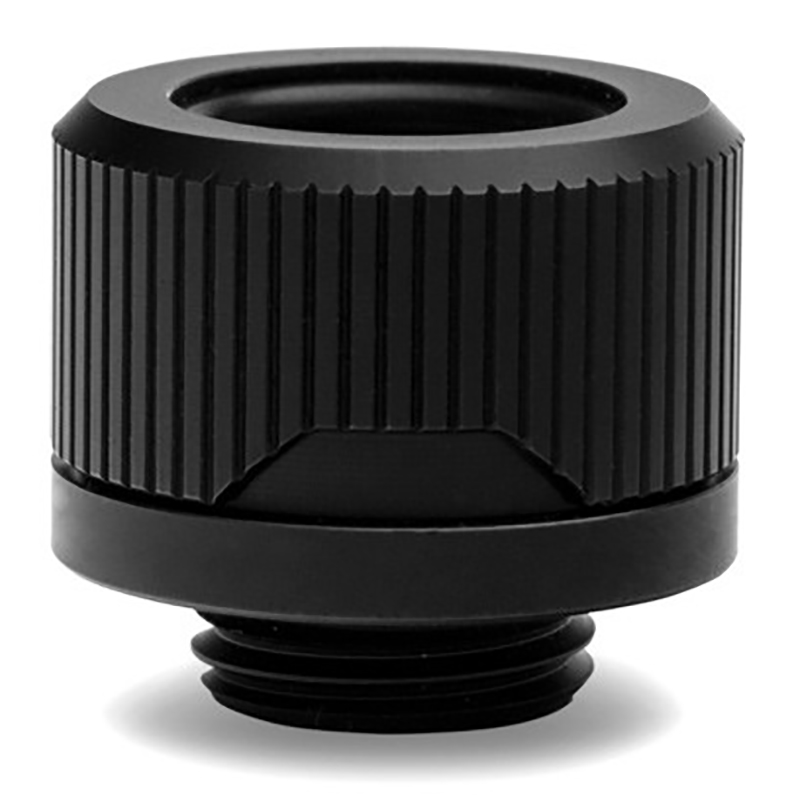 EK Torque HTC-16 16mm Compression Fitting - Black