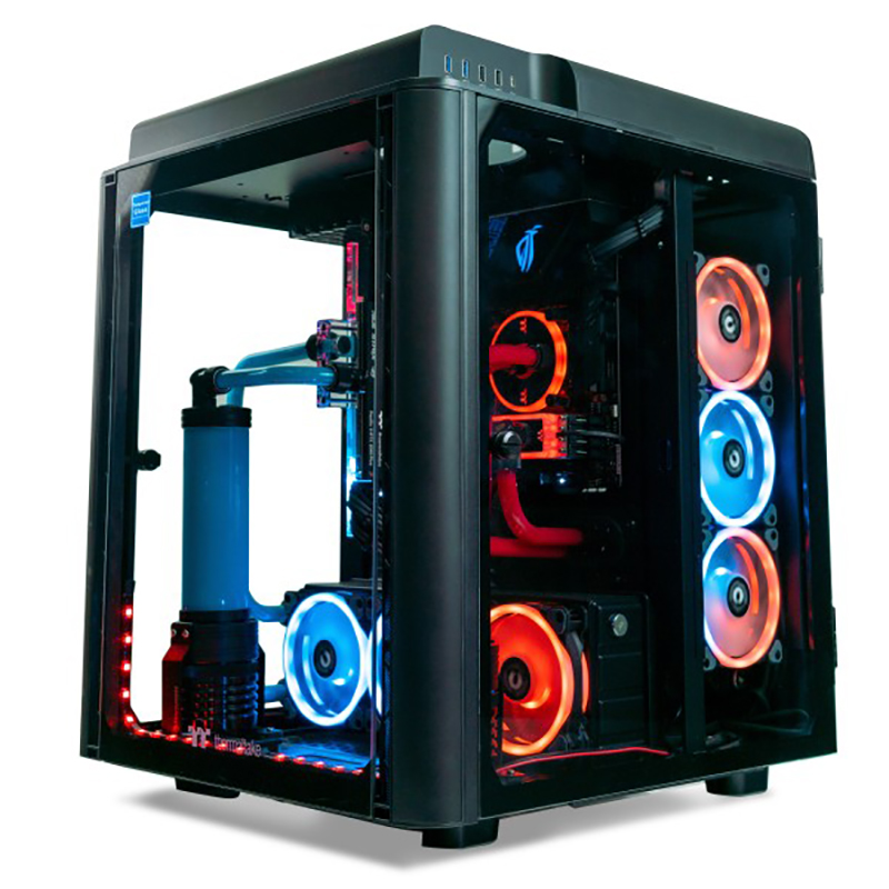 Thermaltake Alchemist LCGS Intel i9 9900KF RTX 2080 TI 32GB 500GB SSD + 2TB HDD Liquid Cooling Gaming System