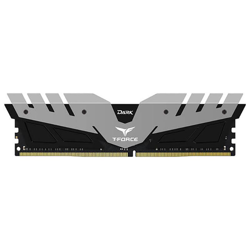 Team 16GB (2x8GB) TDGED416G2666HC15BDC01 T-Force Dark Series 2666MHz DDR4 RAM - Grey