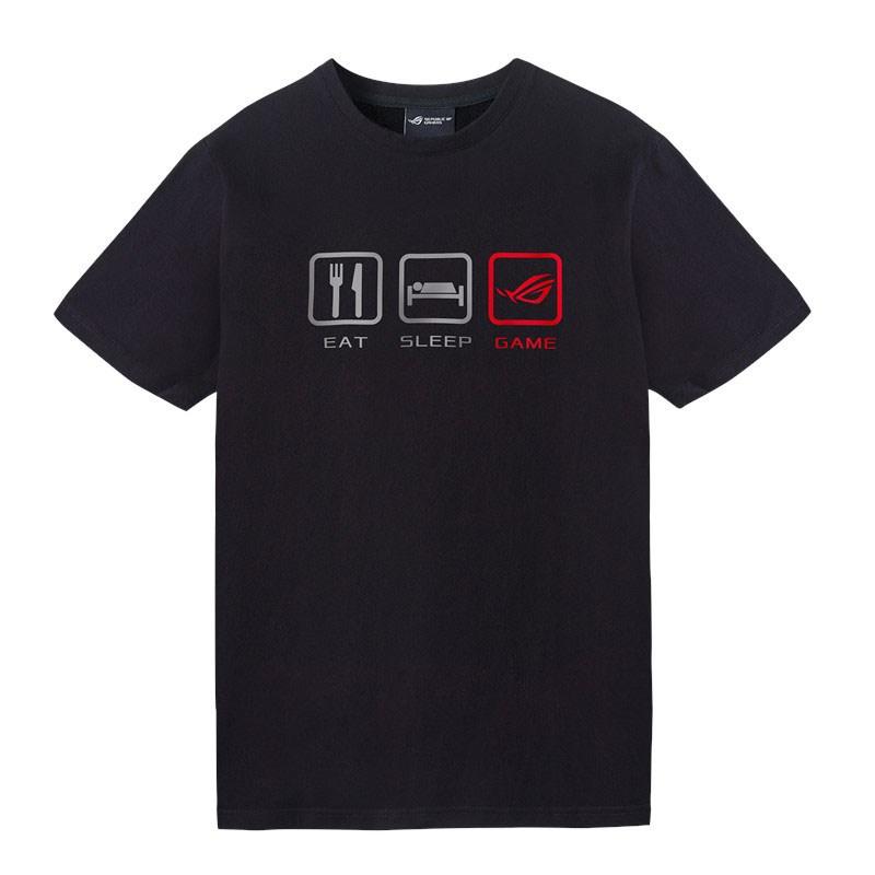 Asus ROG Lifestyle T-Shirt Black - Medium