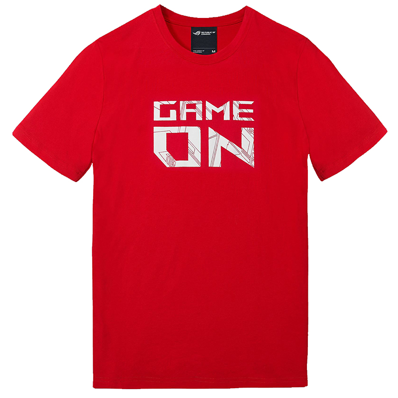 Asus ROG Game On T-Shirt Red - Extra Large