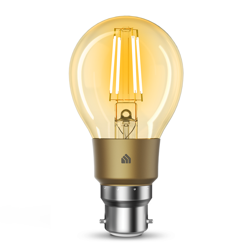 TP-Link KL60B Kasa Filament Smart Bulb Warm Amber - Bayonet