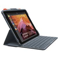 Logitech Slim Folio Bluetooth Keyboard Case for iPad 5th-6th Gen