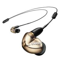 Shure SE535 Wireless Earphones - Bronze (BT2 + UNI Cable)